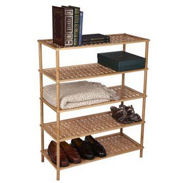 Household Essentials 5-Tier Shoe Rack