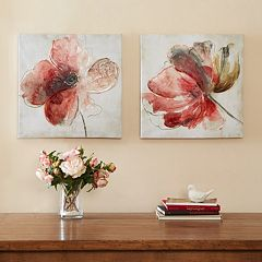 Madison Park Lovely Blossoms Canvas 2 pc Wall Art Set