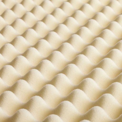 Dream Therapy 2-inch Convoluted Memory Foam Topper