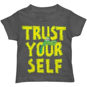 "Disney / Pixar The Good Dinosaur ""Trust Yourself"" Arlo Baby Tee"