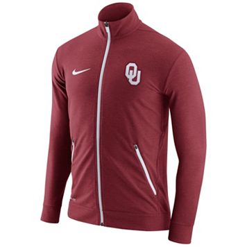 Men's Nike Oklahoma Sooners Dri-FIT Touch Jacket