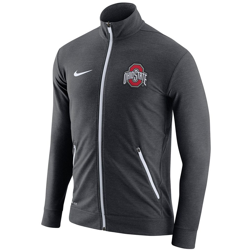 Men's Nike Ohio State Buckeyes Dri-FIT Touch Jacket