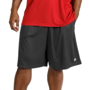 Big & Tall Russell Athletic  Elastic-Waist Shorts