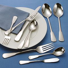 Oneida® 45 pc Colonial Boston Flatware Set