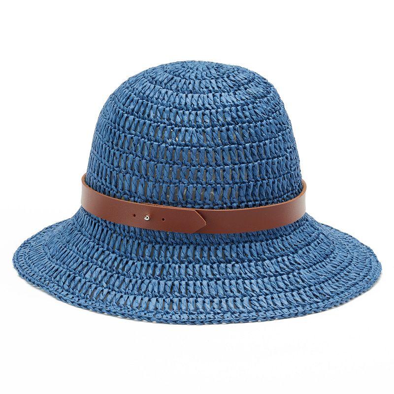 Women's Chaps Crocheted Bucket Hat