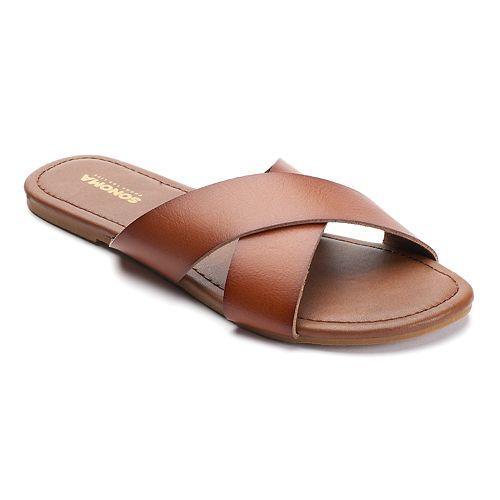 SONOMA Goods for Life™ Women's Criss-Cross Slide Sandals