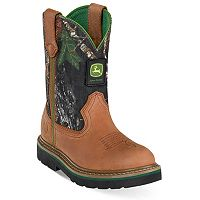 John Deere Johnny Popper Mossy Oak Kids' Boots