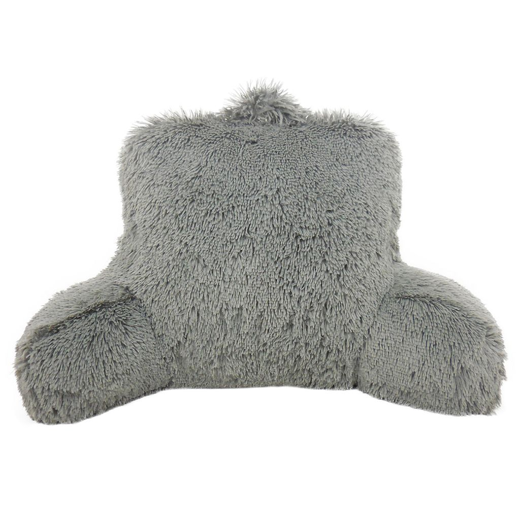 Elements Shaggy Faux-Fur Backrest Pillow