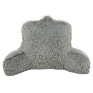 Elements Shaggy Faux-Fur Backrest Pillow