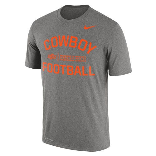Men's Nike Oklahoma State Cowboys Dri-FIT Legend Lift Tee