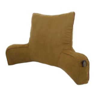Elements Suede Oversized Backrest Pillow