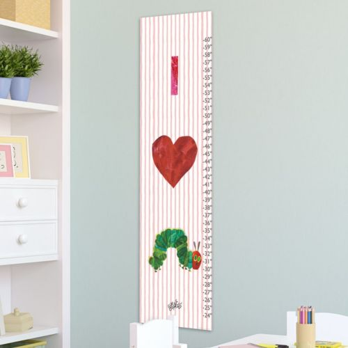 Marmont Hill Eric Carle Love Catepillars Wall Growth Chart