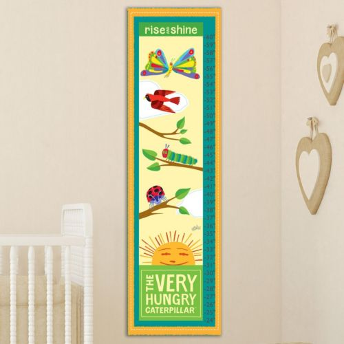 "Marmont Hill Eric Carle ""Hungry Catepillar"" Wall Growth Chart"