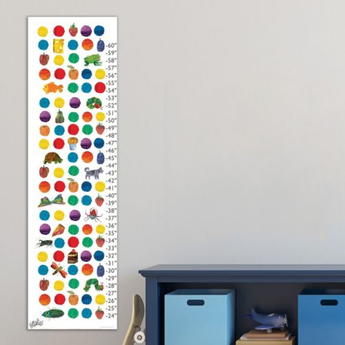 Marmont Hill Eric Carle Food and Animals Wall Growth Chart