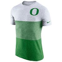 Men's Nike Oregon Ducks Triblend Colorblock Tee