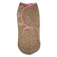 Baby Girl SwaddleMe Leopard Adjustable Infant Swaddle