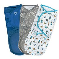 Baby Boy SwaddleMe 3-pk. Adjustable Infant Swaddles