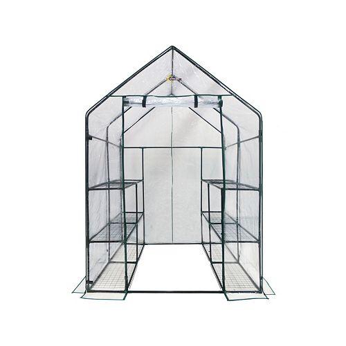 Ogrow Deluxe 12-Shelf Walk-In Portable Greenhouse