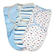 Baby Boy SwaddleMe 3 pkAdjustable Infant Swaddles