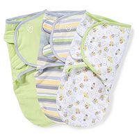 Baby Neutral SwaddleMe 3-pk. Adjustable Infant Swaddles
