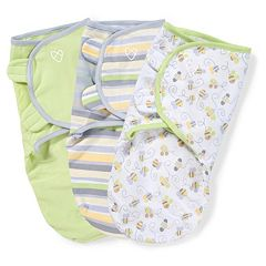 Baby Neutral SwaddleMe 3 pkAdjustable Infant Swaddles