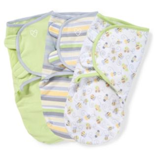 Baby Neutral SwaddleMe 3-pk. Adjustable Infant Swaddles
