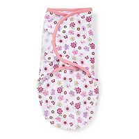 Baby Girl SwaddleMe Nature Adjustable Infant Swaddle