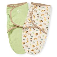 Baby Neutral SwaddleMe 2 pkAdjustable Infant Swaddles