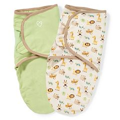 Baby Neutral SwaddleMe 2-pk. Adjustable Infant Swaddles