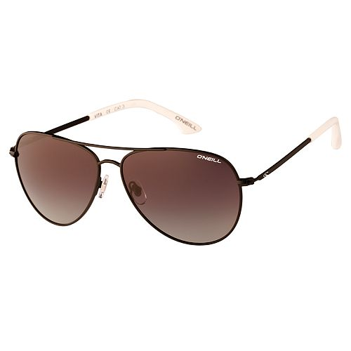 Unisex O'Neill Vita Aviator Polarized Sunglasses