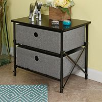 RiverRidge Home Products 2-Drawer Storage Unit