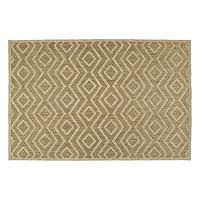 Kaleen A Breath of Fresh Air Diamond Geometric Indoor Outdoor Rug