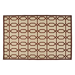 Kaleen A Breath of Fresh Air Geo Indoor Outdoor Rug