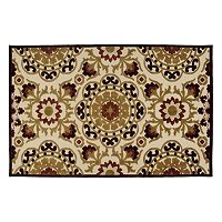 Kaleen A Breath of Fresh Air Suzani Indoor Outdoor Rug