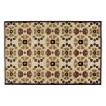 Kaleen A Breath of Fresh Air Medallions Indoor Outdoor Rug
