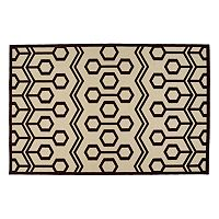 Kaleen A Breath of Fresh Air Zig-Zag Indoor Outdoor Rug