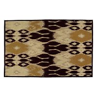 Kaleen A Breath of Fresh Air Ikat Indoor Outdoor Rug