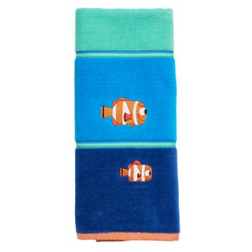 Disney / Pixar Finding Dory Nemo & Marlin Hand Towel by Jumping Beans®