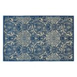 Kaleen A Breath of Fresh Air Floral Indoor Outdoor Rug