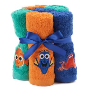 Disney / Pixar 6-pack Finding Dory Hank, Dory & Nemo Washcloths by Jumping Beans®