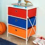 RiverRidge Kids 3-Drawer Storage Unit