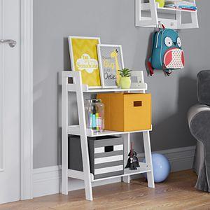 RiverRidge Home Kids 3-Tier Ladder Bookshelf