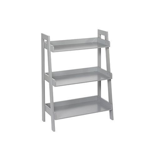RiverRidge Home Kids 3-Tier Ladder Bookshelf