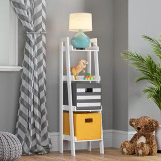 RiverRidge Home Kids 4-Tier Ladder Bookshelf