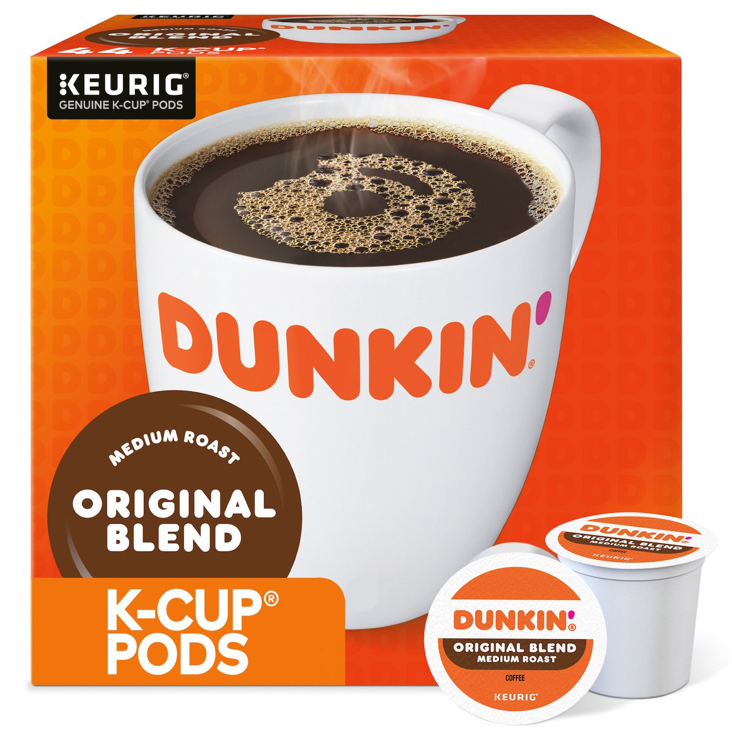 keurig kcup portion pack dunkinu0027 donuts original blend coffee 44pk