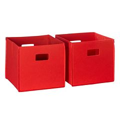 RiverRidge Kids Storage Bin 2 pc Set