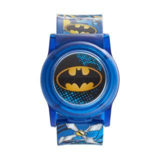 Batman Kids' Flip-Up Digital Light-Up Watch