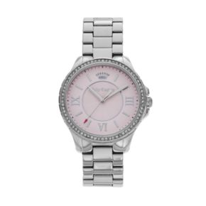 Juicy Couture Women's Gwen Crystal Stainless Steel Watch - 1901354