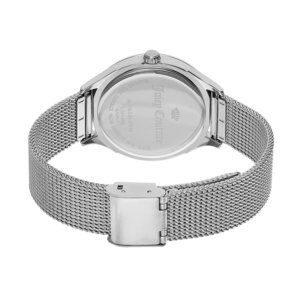 Juicy Couture Women's Arianna Crystal Stainless Steel Watch - 1901378
