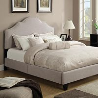 Saddle Queen Platform Bed